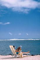 strand ligstoel